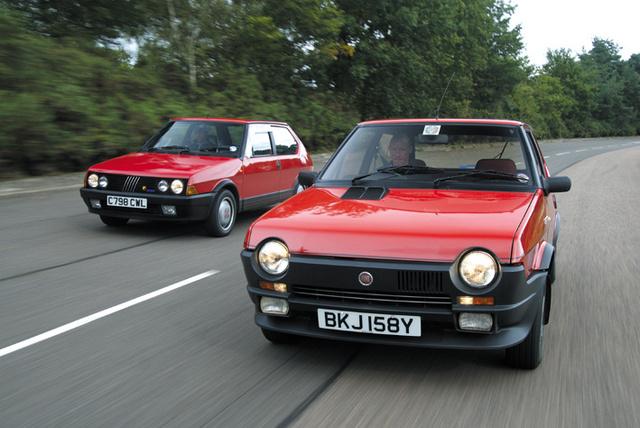 Fiat Ritmo Abarth Historia yversiones